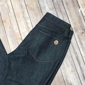 Tory Burch dark denim jeans